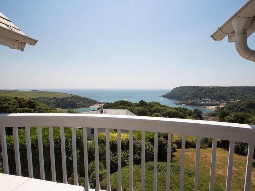 Balcony sea views | La Tourelle, Salcombe