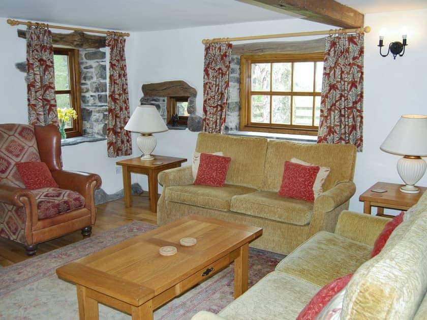 Spacious living room   The Garth - Blakebeck Farm, Mungrisdale, near Threlkeld