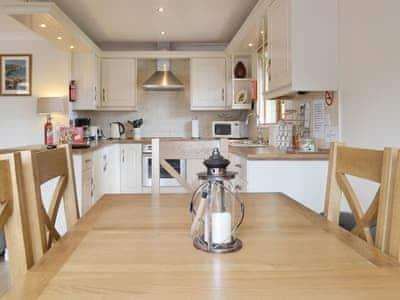 Convenient dining area | Archers Rest, Sewerby, Bridlington