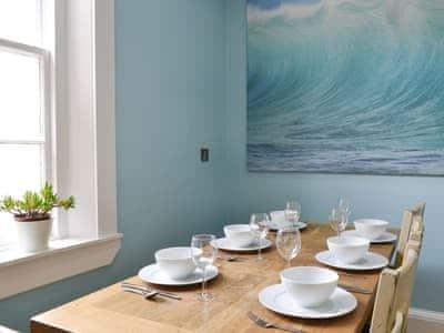 Convenient dining area within the kitchen   The Promenade, Portobello, Edinburgh