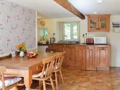 Wonderful farmhouse style kitchen/diner   Kates Cottage, High Brow Edge, near Backbarrow
