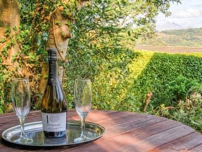 Magnificent views from the garden | Summit, Oban