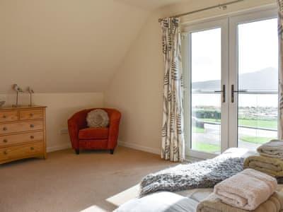 Spacious master bedroom | Rivendell, Lamlash, Isle of Arran