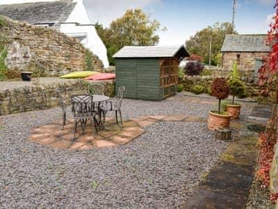 Outdoor area | Swallow Barn, Torpenhow, near Wigton