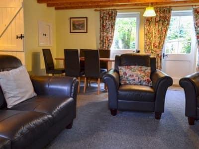 Spacious living and dining room | Blacksmith's Cottage, Askham Bryan near York