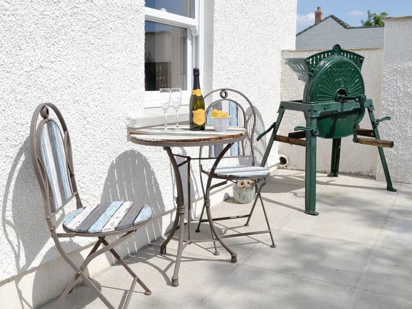 Attractive additional outdoor seating area | Greengill Farm Holiday Cottage - Greengill, Greengill, near Cockermouth