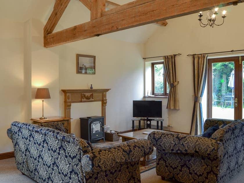 Large comfortable living room | Skimblescott Barn, Much Wenlock