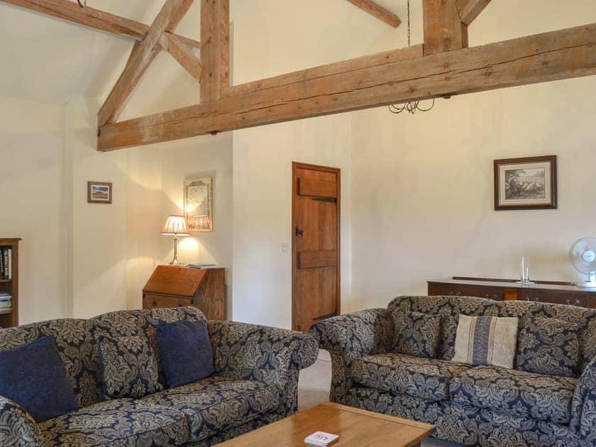 Spacious living room | Skimblescott Barn, Much Wenlock