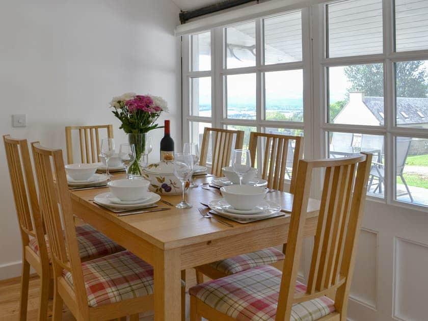 Delightful dining room | Wester Laggan Cottage, Dulnain Bridge, near Grantown-on-Spey