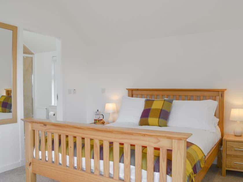 Comfortable double bedroom | Wester Laggan Cottage, Dulnain Bridge, near Grantown-on-Spey