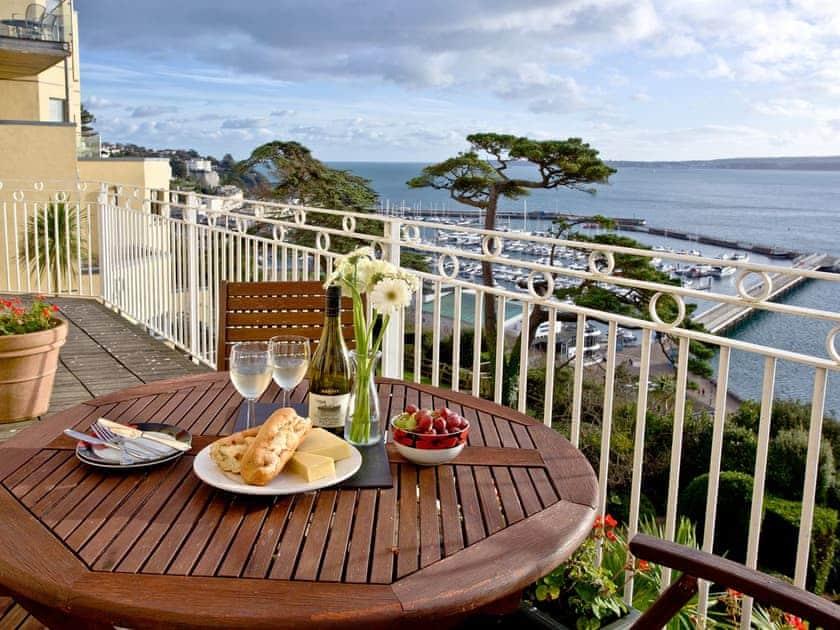 Balcony | Ocean Shangri-La, Bay Fort Mansions - Bay Fort Mansions, Torquay