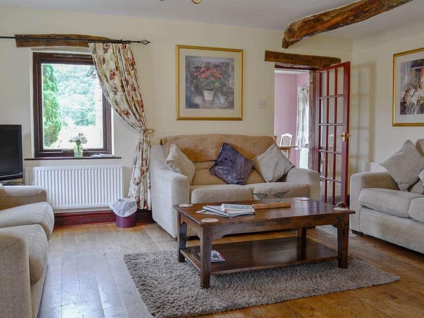 Comfortable living room | Skirfare - Stonelands Farmyard Cottages, Litton near Kettlewell