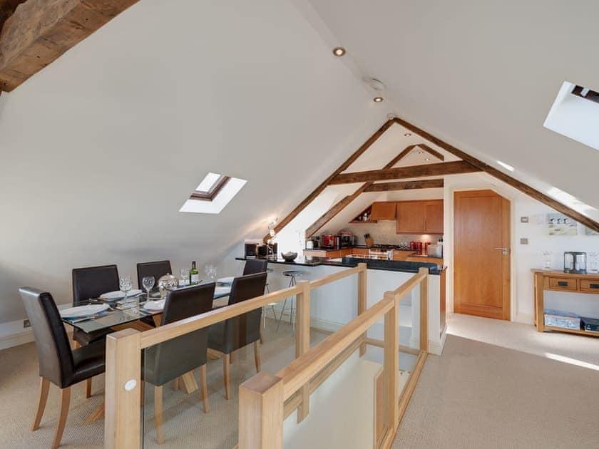 Open plan living space | The Penthouse, Endsleigh Court - Endsleigh Court, Stoke Fleming, near Dartmouth