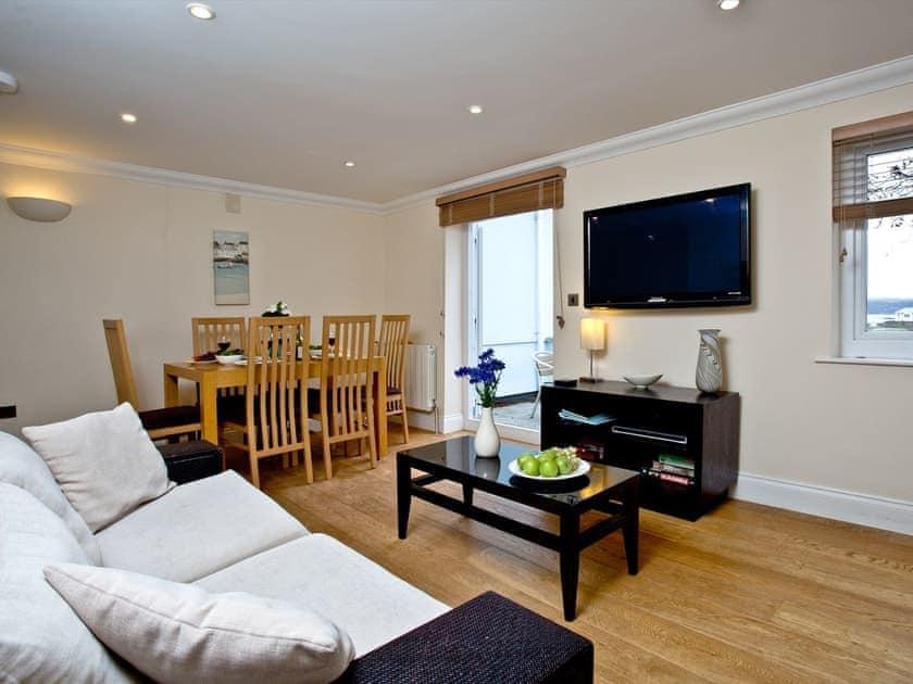 Open plan living space | The Cottage, Goodrington Lodge - Goodrington Lodge, Paignton