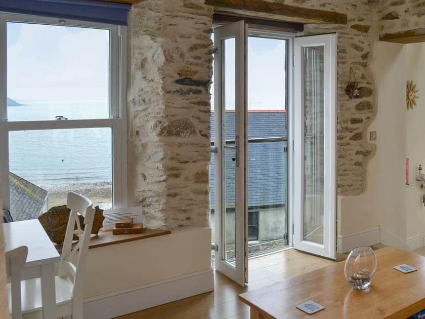 Gorran Haven Cornwall sea views Holiday Cottage