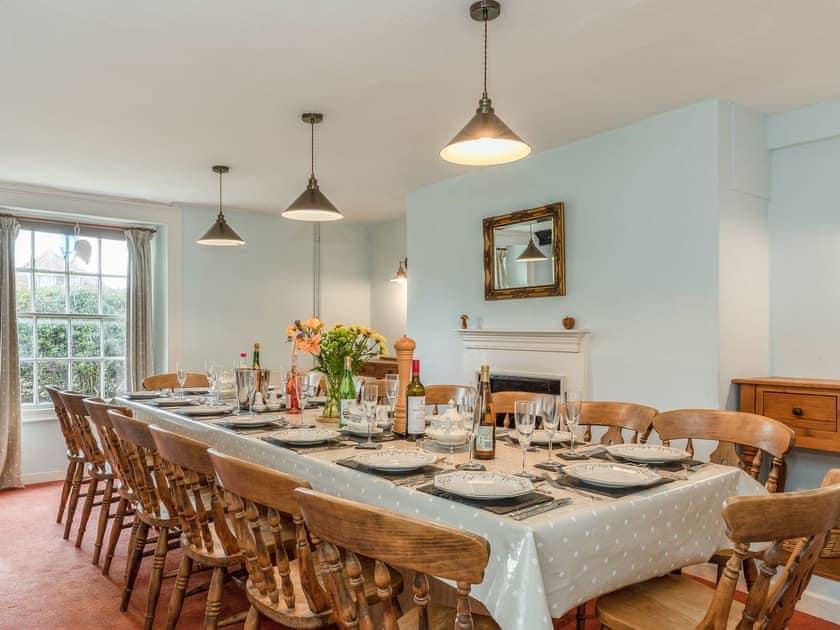 Dining room   Park Farmhouse, Chideock, near Bridport