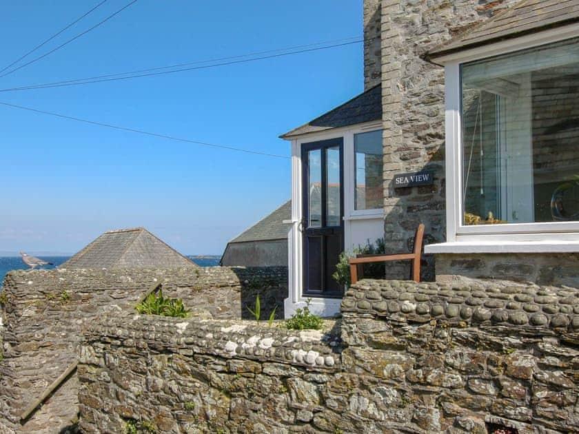 Holiday Cottage Cornwall Sea Views Tub