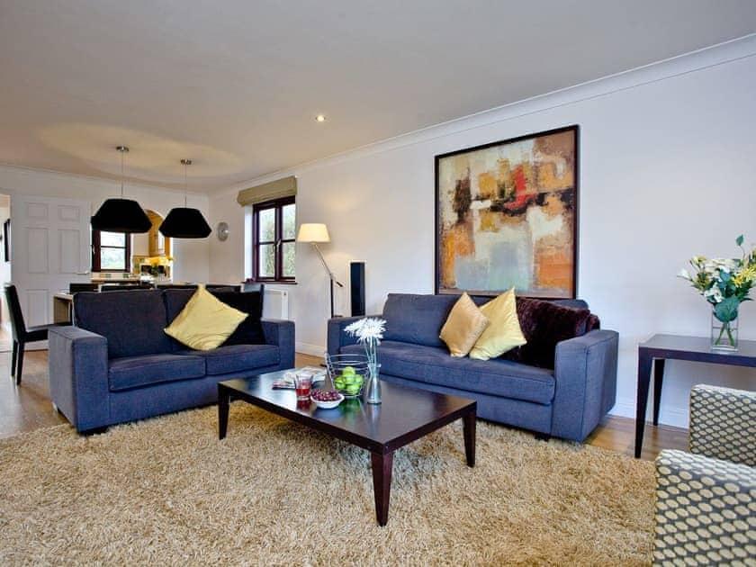 Spacious open plan living area | Holly, Woodland Retreat - Woodland Retreat, Wadebridge