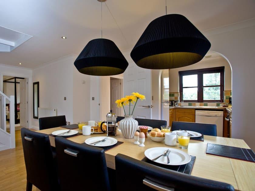 Lovely dining area | Holly, Woodland Retreat - Woodland Retreat, Wadebridge
