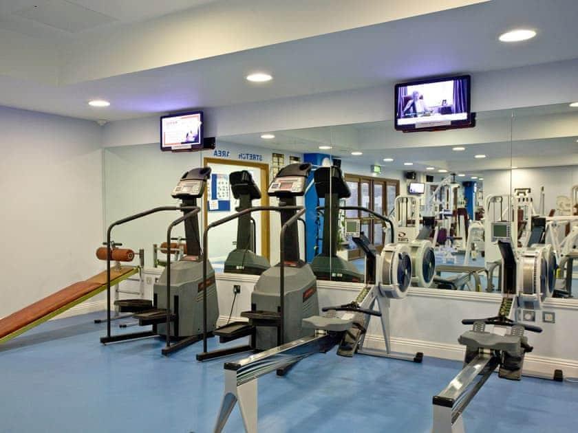 Splendid on-site gym facilities | Holly, Woodland Retreat - Woodland Retreat, Wadebridge