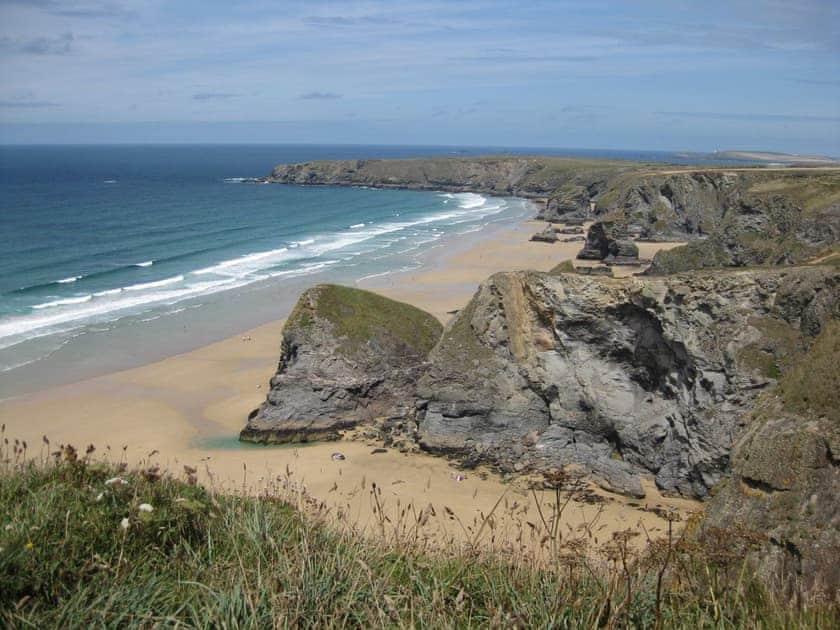 Just one of many beautiful sandy Cornish beaches | Holly, Woodland Retreat - Woodland Retreat, Wadebridge