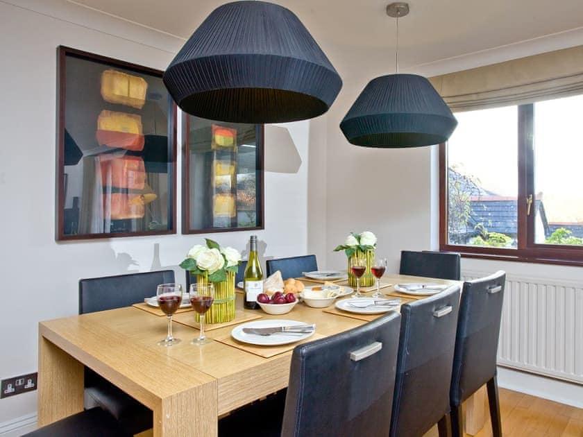Lovely dining area | Honeysuckle, Woodland Retreat - Woodland Retreat, Wadebridge