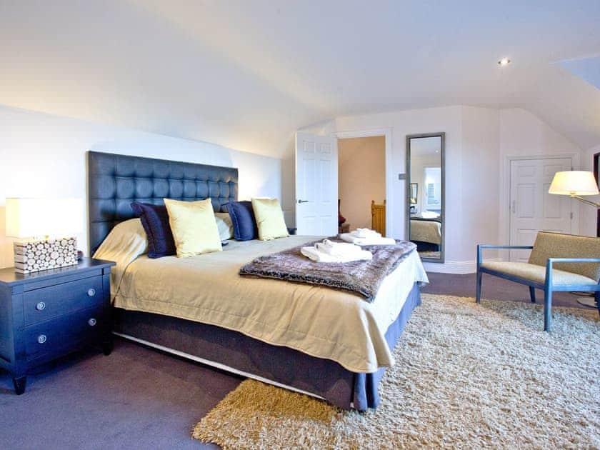 Lovely large bedroom | Honeysuckle, Woodland Retreat - Woodland Retreat, Wadebridge