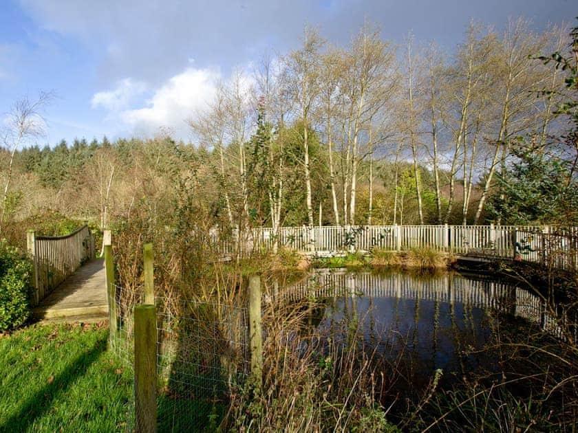 Extensive grounds including a lake   Lily, Woodland Retreat - Woodland Retreat, Wadebridge