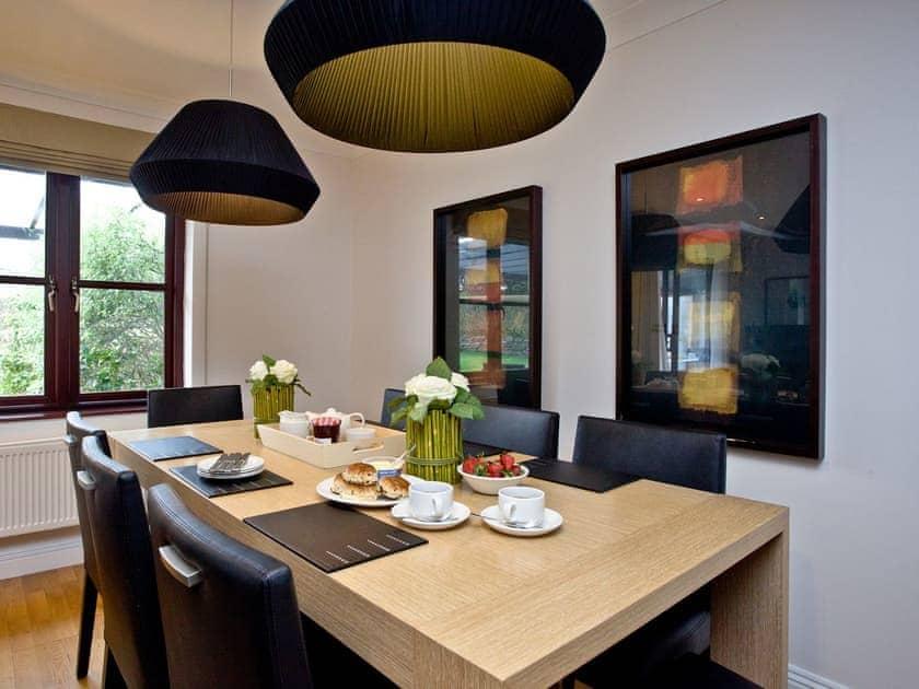 Delightful dining area | Orchid, Woodland Retreat - Woodland Retreat, Wadebridge