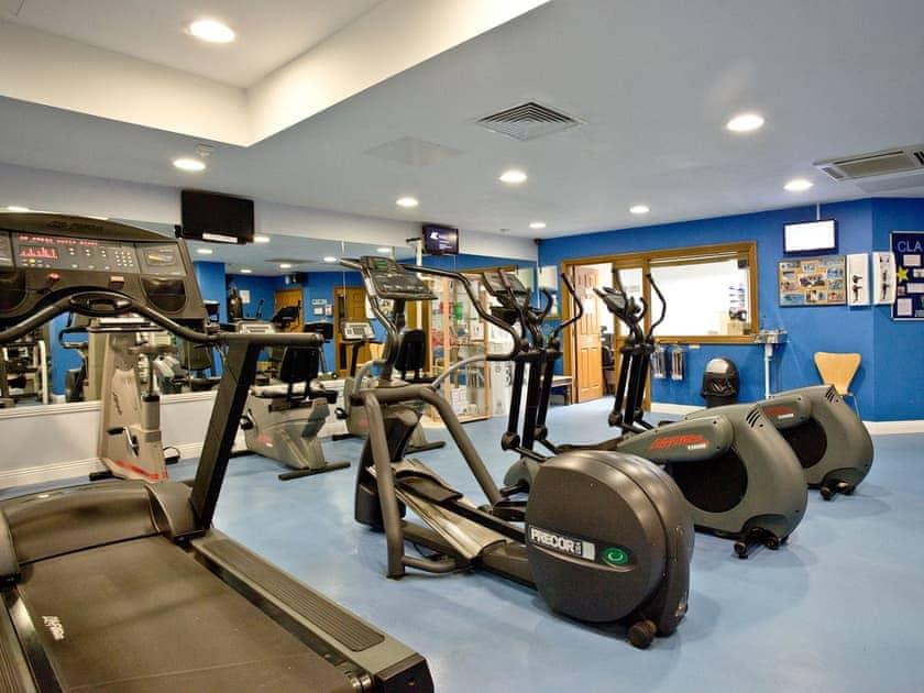 Fully-eequipped on-site gym | Orchid, Woodland Retreat - Woodland Retreat, Wadebridge