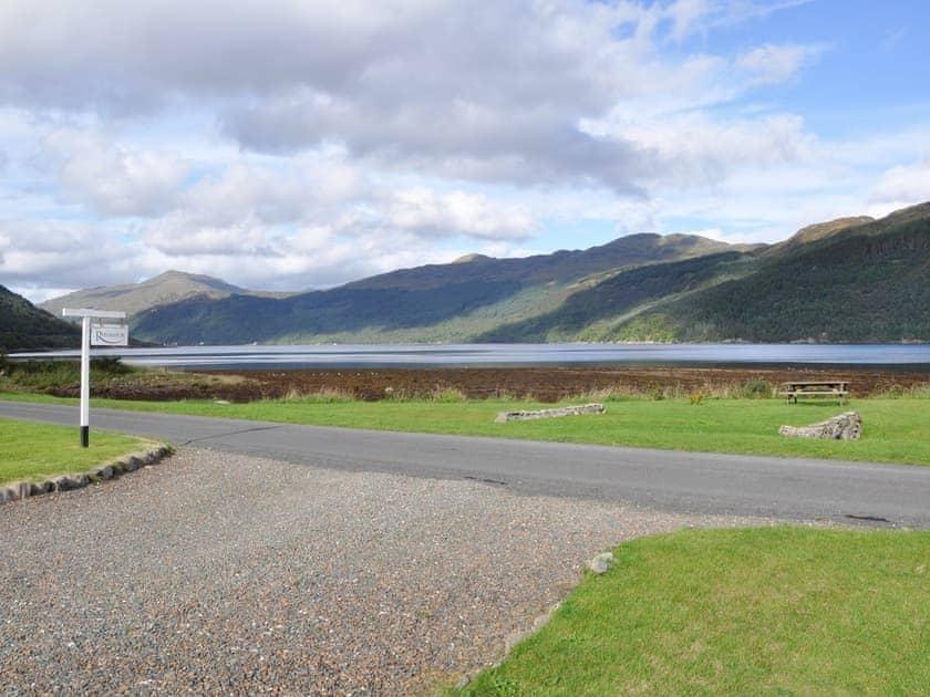 Peaceful views from the driveway | Rhumhor House, Carrick Castle, near Lochgoilhead