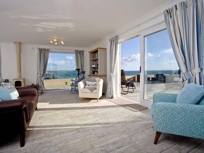 Living area | Methrose, St Austell