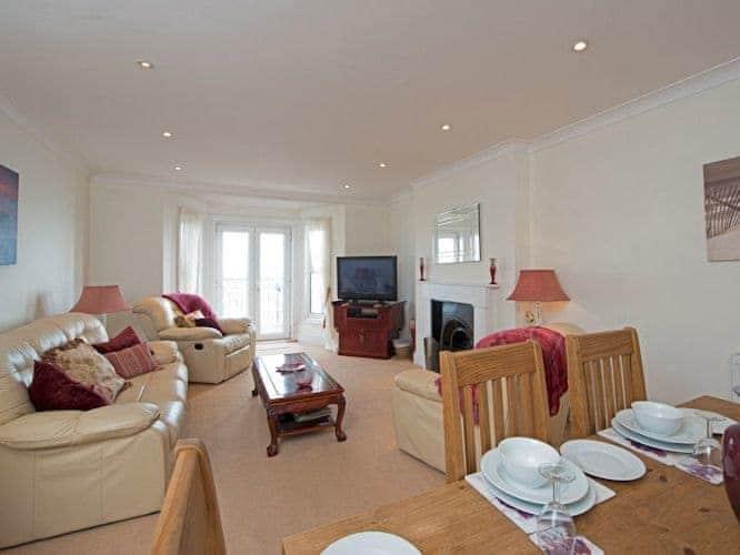 Living room/dining room | Apartment 2, Nautica House, Apartment 2, Nautica House, Sandown