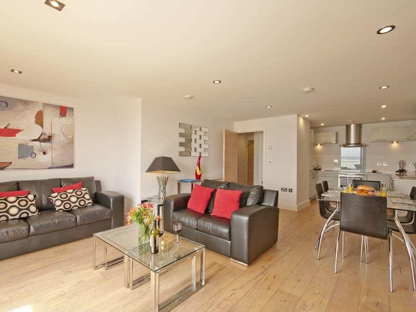 Open plan living space | 5 Ocean Point - Ocean Point, Saunton