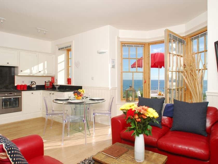 Open plan living space | No. 2 Prospect House - Prospect House, Hallsands