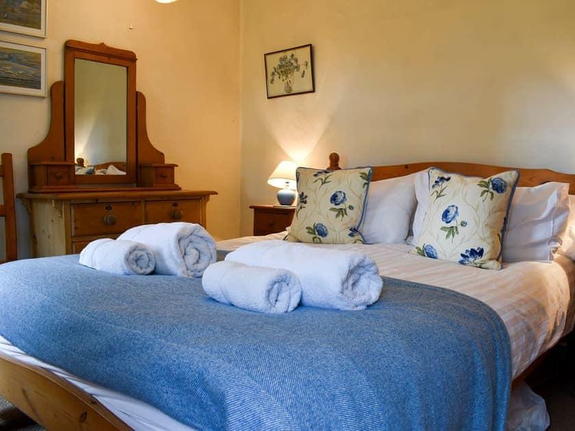 Double bedroom   Garbutt Cottage, Langthwaite near Reeth
