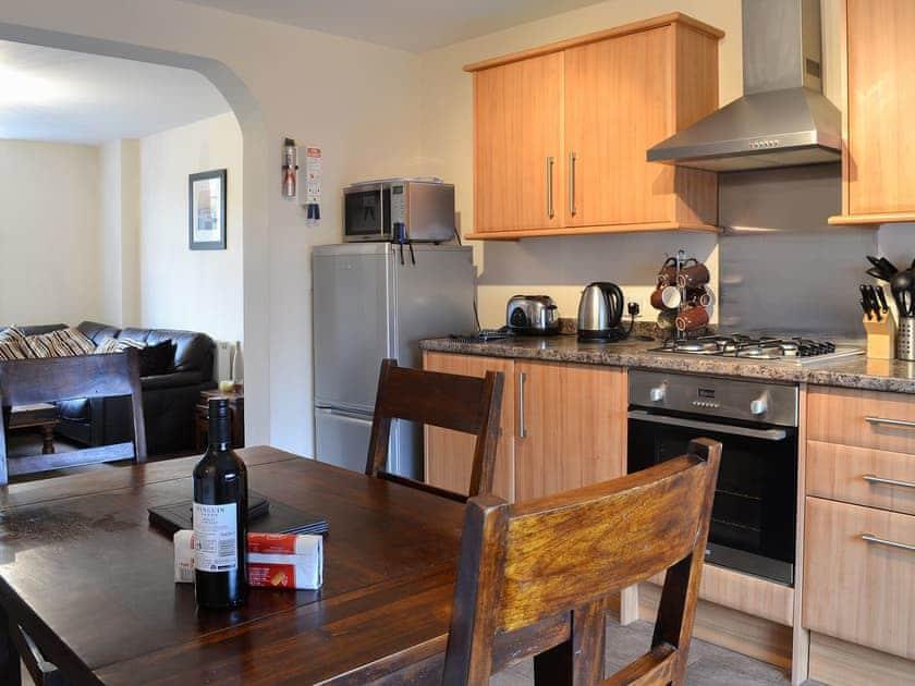 Delightful kitchen/diner | Lyndhurst Apt. 2 - Lyndhurst Apartments, Robin Hood's Bay