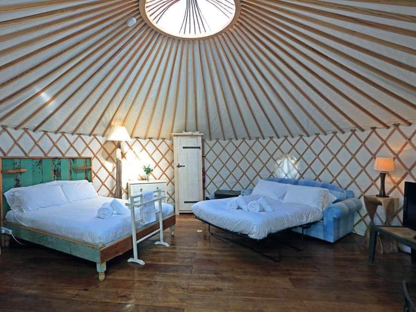 Tehidy, Yurt, The Park