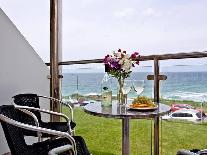 Balcony | 7 Waters Edge - Waters Edge, Newquay