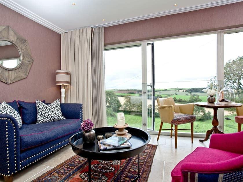 Living area   Golden Meadow And Workshop, Torcross