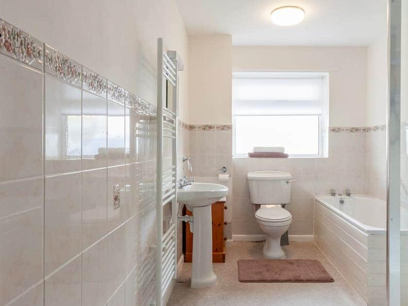 Bathroom with heated towel rail | Rivers Reach, Dartmouth
