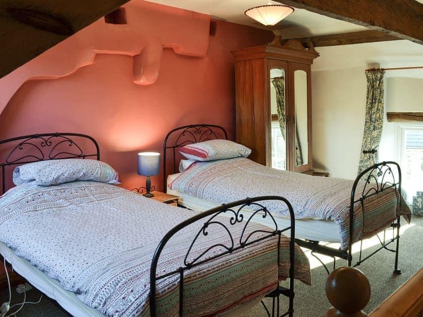 Twin bedroom | Cracket Cottage, Westgate, near Stanhope