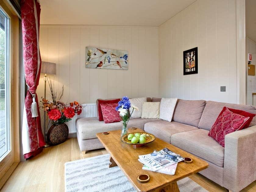 Comfortable living space | Gaia's lodge, 4 Indio Lake - Indio Lake, Bovey Tracey