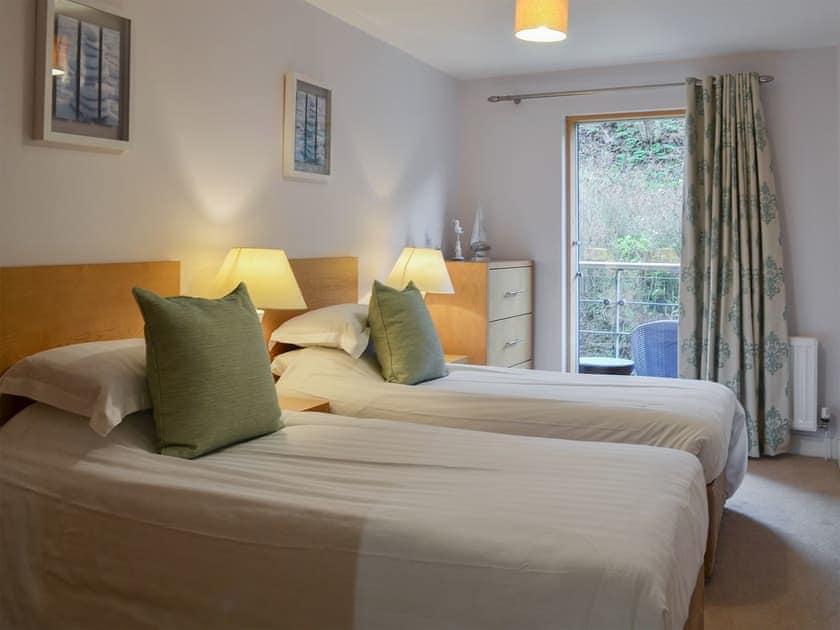 Comfy twin bedroom   North Bay Sands Apartment 2 - North Bay Sands Apartments, Scarborough