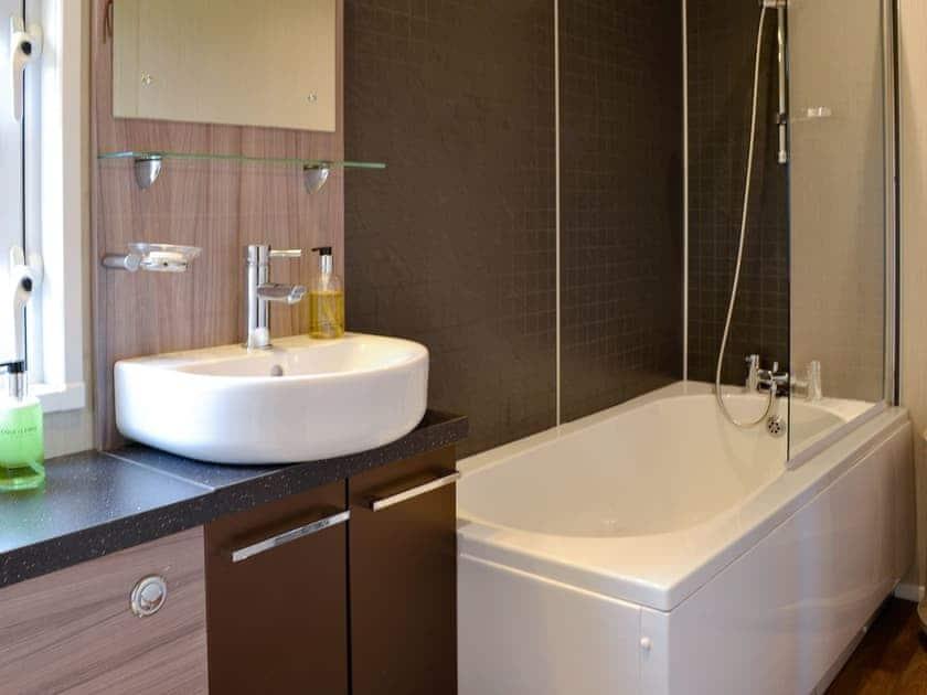 Shower room   Skylark Lodge - Wallace Lane Farm Cottages, Brocklebank, near Caldbeck and Uldale