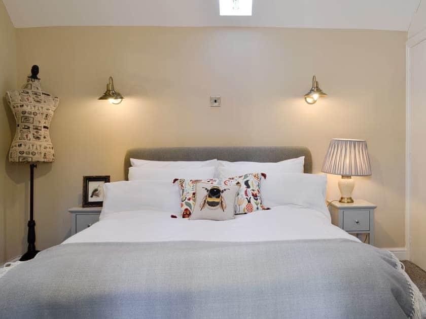 Relaxing double bedroom   The Courtyard - Cefn Tilla Court, Llandenny, near Usk