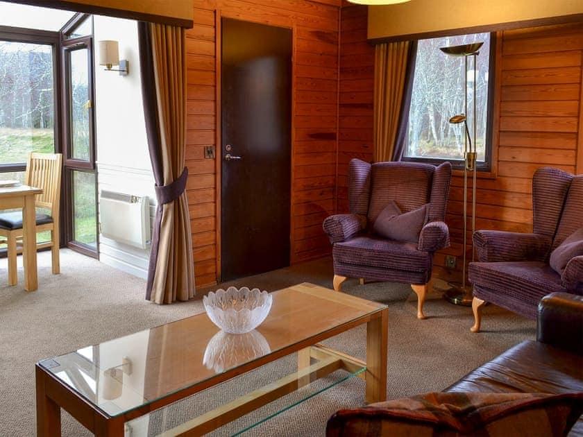 Comfortable living area   Aviemore Lodge - Spey Valley, Aviemore