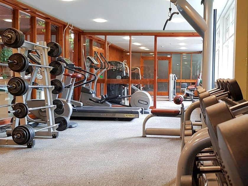 Shared gym facilities   Aviemore Apartment, Aviemore Lodge - Spey Valley, Aviemore