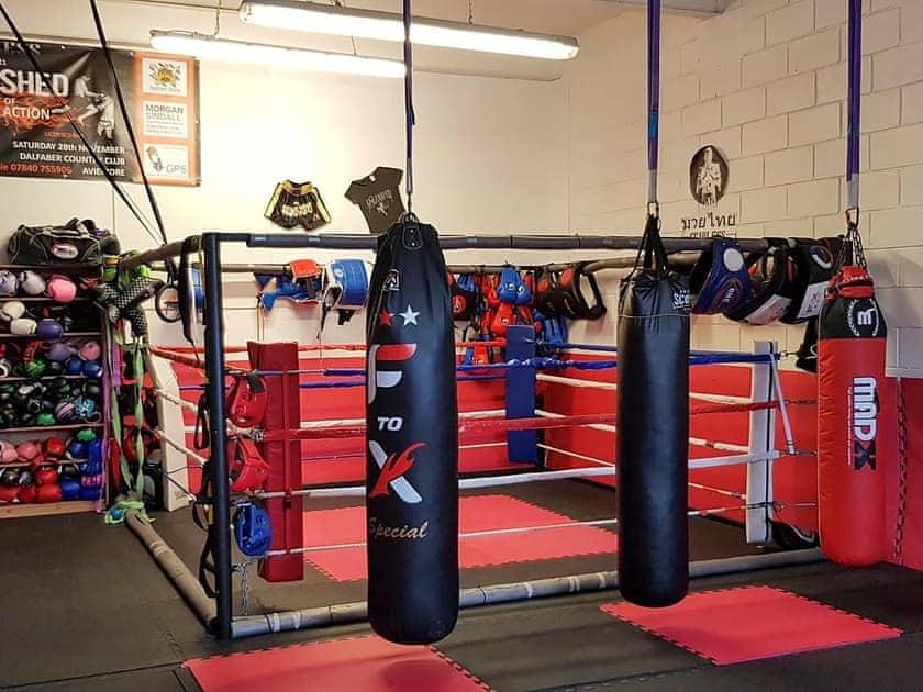 Shared gym facilities   Aviemore Lodge, Aviemore Apartment - Spey Valley, Aviemore