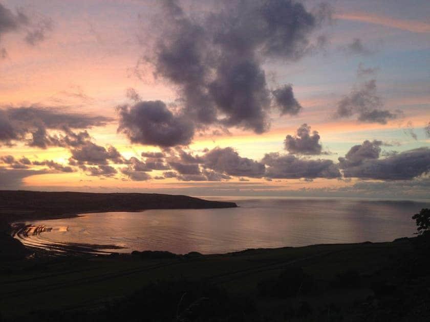 Evening over the bay | The Yorkshireman, Ravenscar, near Robin Hood's Bay